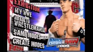 WWE Smackdown vs Raw 2009 Soundtrack