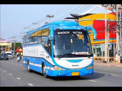 Bangkok to Pattaya by Bus for $3 – March 2017
