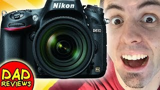 BEST CHEAP FULL FRAME DSLR? | Nikon D610 Review