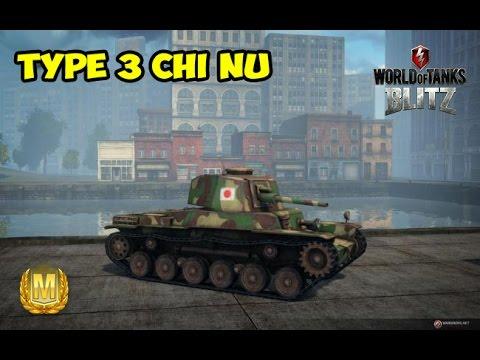 WoT Blitz Мастер на Type 3 Chi Nu - World of Tanks Blitz