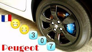 pintando as rodas de pretro Peugeot 307