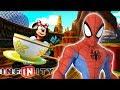 SPIDERMAN Voiture de Course Jeux Vidéo de Dessin Animé en Français - Disney Infinity 3.0