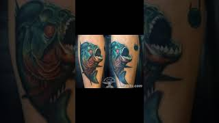 Значение тату пиранья - фото примеры готовых татуировок