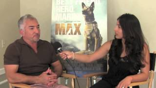 Cesar Milan Talks Dog Training and MAX Movie