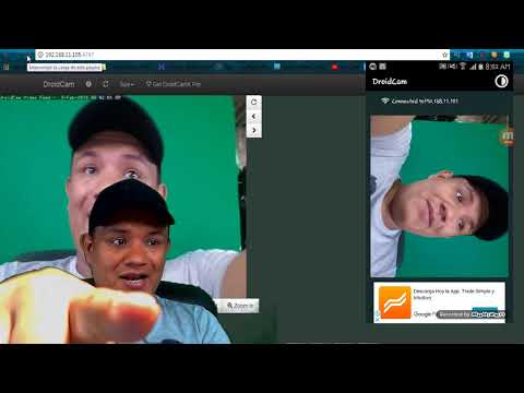Como Convertir Celular En Camara Web 2018 100% FUNCIONAL DroidCam Wireless Webcam Luisito Habla
