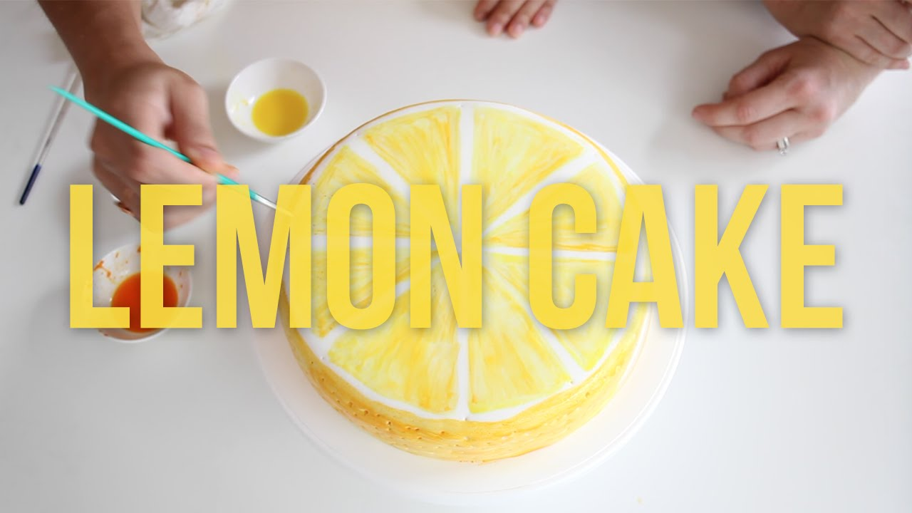 Lemon Cake Decoration wwwgalleryhipcom The Hippest Pics