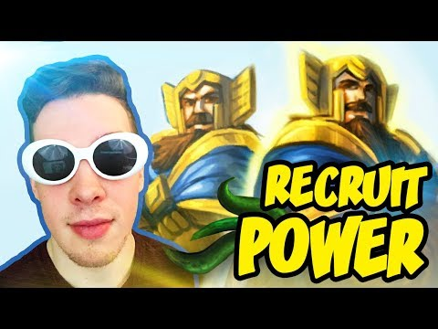 Hearthstone: Wild Recruit Paladin Power!