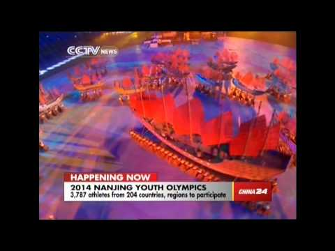 Opening ceremony of 2014 Nanjing Youth Olympics: a young version of the Chinese Dream