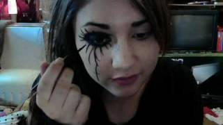 Andy Sixx Black veil Brides Inspired Makeup Tutorial