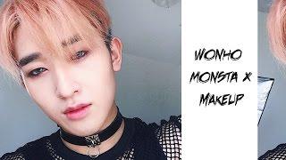 Wonho MONSTA X Instagram Makeup | Ivan Lam