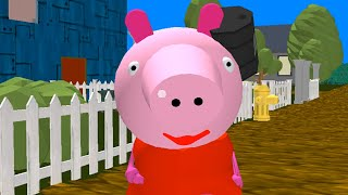 Piggy Neighbor Family Escape Obby House 3D Gameplay Walkthrough Part 1 - Levels 1 2 3 (Android,iOS)
