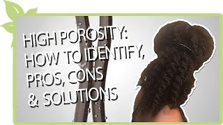 HIGH POROSITY: how to identify & REAL solutions to common setbacks | Natural Hair