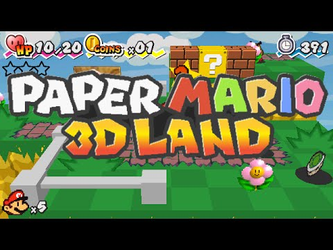Paper Mario 3D Land Trailer