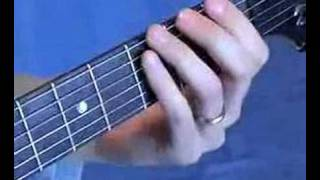 Plush Tab Guitar Chord Inversion CAGED Lesson
