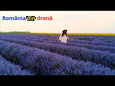 România din dronă! (cum a arătat în 2018)