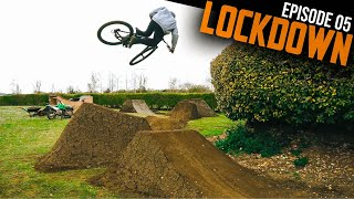 FINALLY RIDING MY BACKYARD DIRT JUMPS FEELS AMAZING!! LOCKDOWN EP5