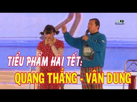 Hài Tết 2019: Tiểu phẩm hài Quang Thắng - Vân Dung//Gặp nhau cuối năm