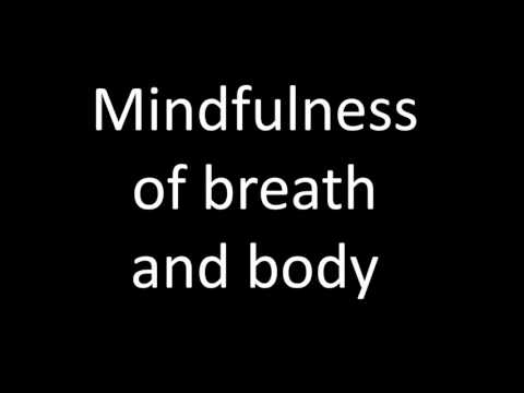 Playlist 4, track 1 - mindfulness of breath and body