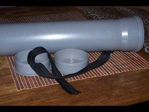 Тубус для спиннинга из кабель канала своими руками