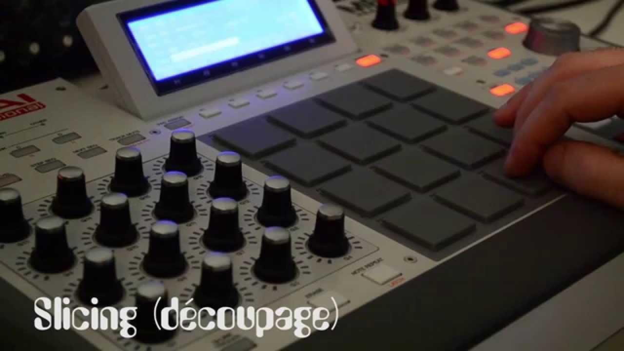 Beatmaking Hip-Hop #1 100% Vinyl on AKAI MPC RENAISSANCE [N-eiviv  Beatmaker/Dj]