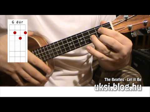 The Beatles - Let It Be - chords, ukulele cover (www.chordtime.com)