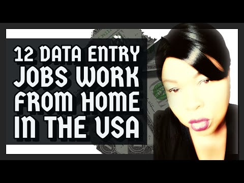 12 Data Entry Jobs Work From Home 2019