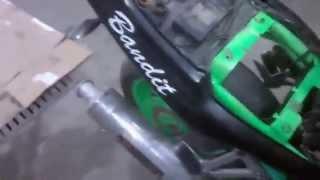 Первый запуск Suzuki Bandit GSF 400