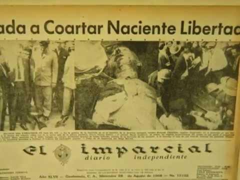 Dr. ESTUARDO ANTONIO CALDERON TOBAR. CRIMEN CONTRA J. GORDON MEIN, EEUU.