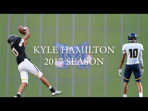 Kyle Hamilton 2017 Season