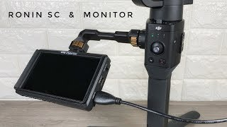 Mounting A Monitor On A DJI Ronin SC