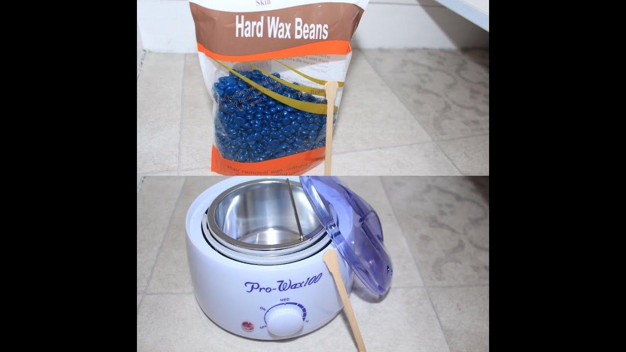 Hard Wax Beans + Wax Machine Review + Démo (URDU/HINDI)