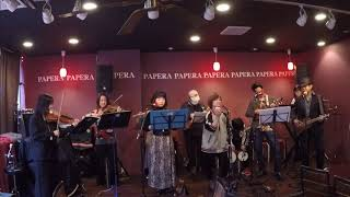 "Brother Shimu and Mahalo Orchestra 12th live on 8 Mar.2020 at ""Ukulele Party Vol.17 ""Papera, Shinjuku-gyoen, Tokyo, Japan 15:30-15:45 This song is one of ..."