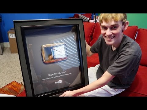 SML'S GOLD PLAY BUTTON IS HERE!!!!