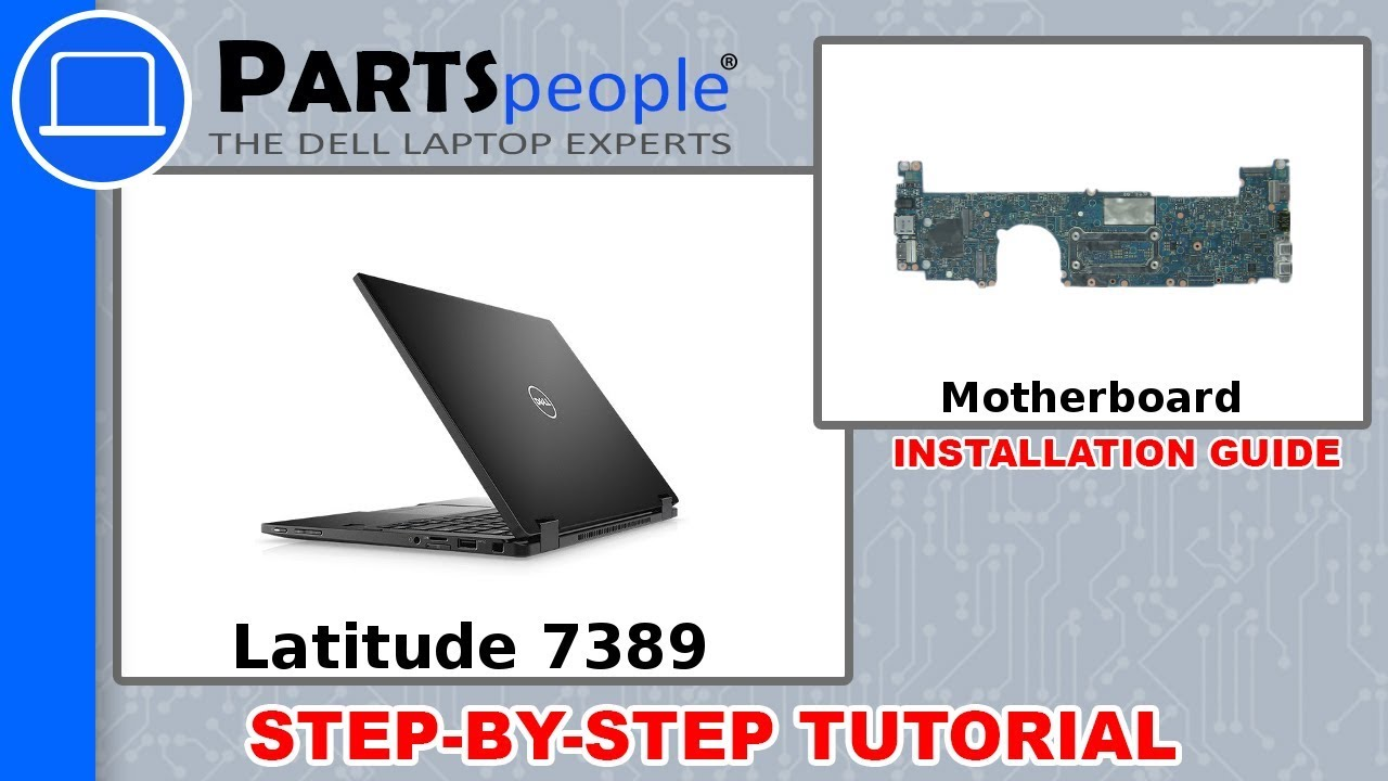 Dell Latitude 7390 (P29S002) Motherboard Removal & Installation