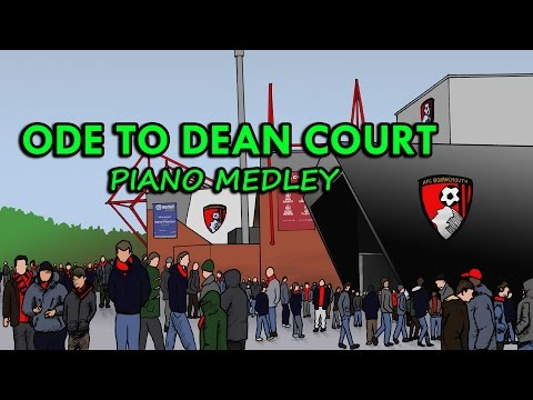 """ODE TO DEAN COURT"" AFC BOURNEMOUTH Piano Medley #AFCBAnthem Cherries Premier League Promotion Song"