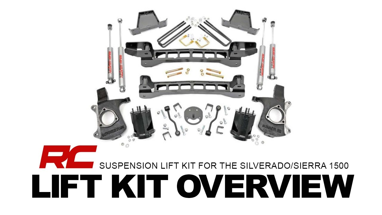 Rough Country's 6 Inch Suspension Lift Kit for Chevy 1500