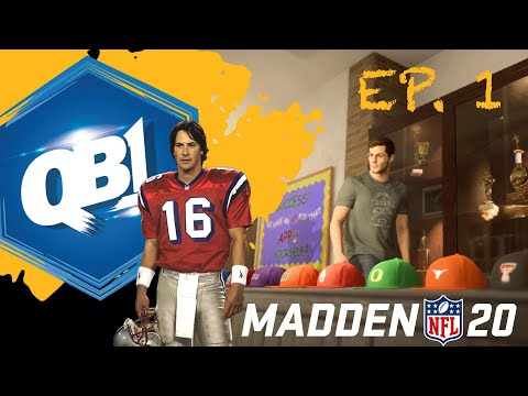 """MADDEN NFL 20 - FACE OF THE FRANCHISE - QB1 - THE CREATION OF SHANE """"FOOTSTEPS"""" FALCO - EP. 1"""