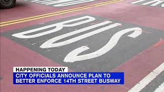 14th Street buses to get cameras to catch busway rule breakers