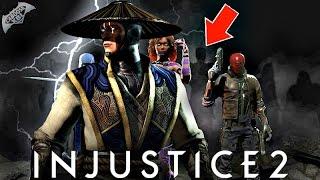 Injustice 2 - Raiden DLC DECONFIRMED?!