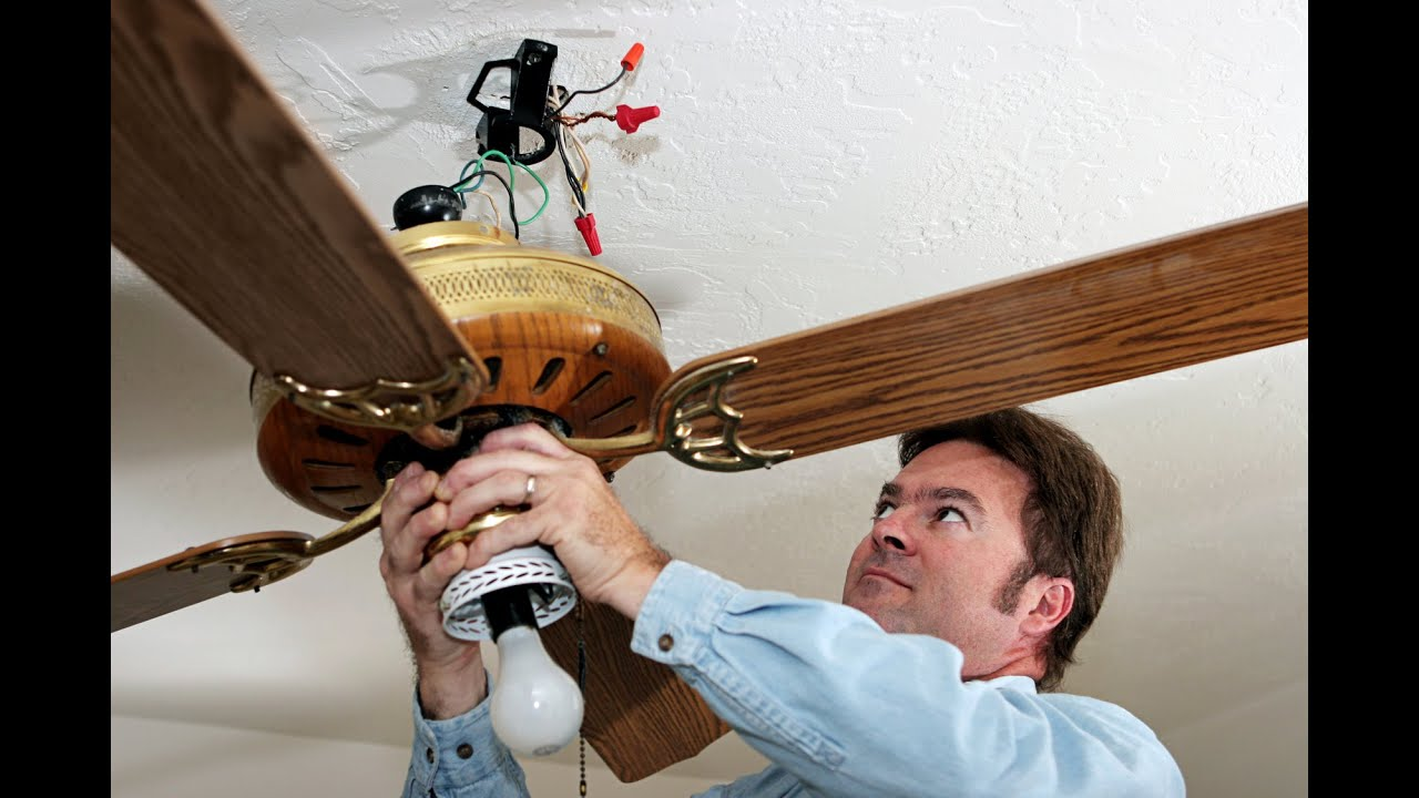 How to get your dick caught in a ceiling fan youtube - Como instalar un ventilador de techo ...