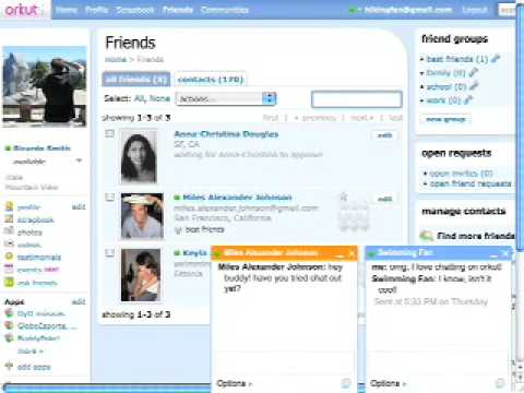 Learn To Chat In Orkut