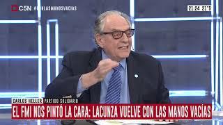 """25-09-2019 - Carlos Heller en C5N – Minuto Uno, con Gustavo Sylvestre – FMI. Desembolso """"frenado"""""""