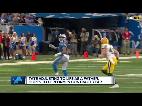 Golden Tate Balancing Fatherhood And Football