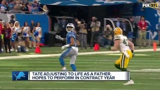 Golden Tate balancing fatherhood and football