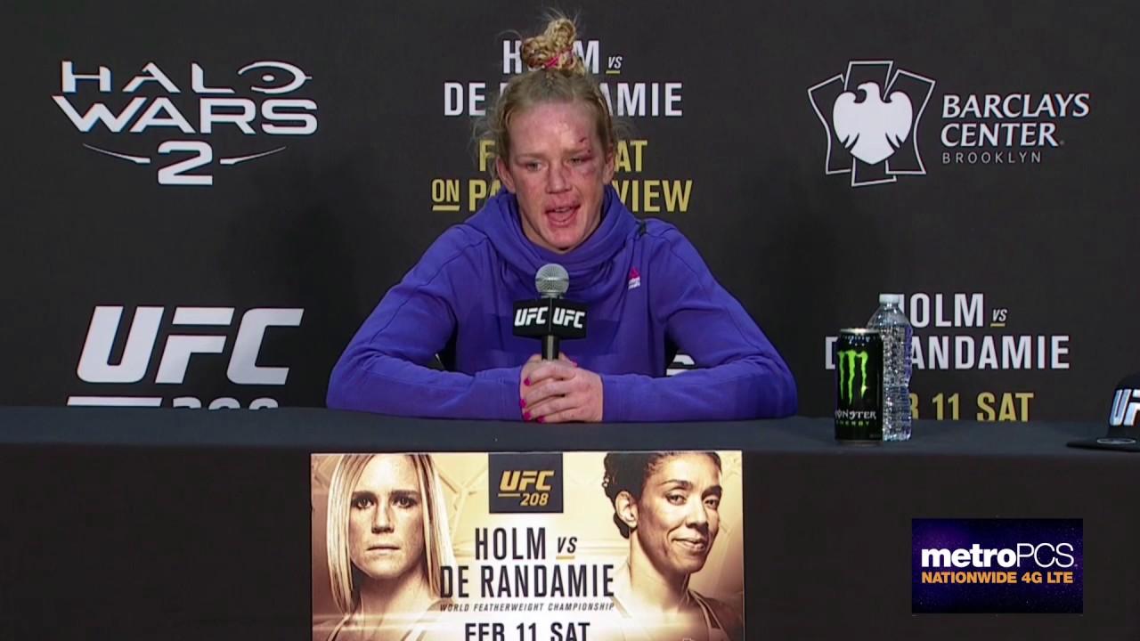 UFC 208: Post-fight Press Conf...
