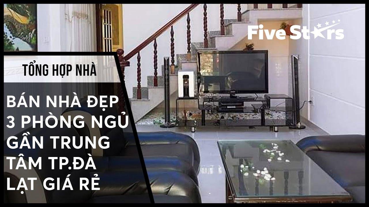 Nhà Đà Lạt t1/T5: Bán nhà đẹp 3 phòng ngủ gần trung tâm thành phố Đà Lạt giá rẻ