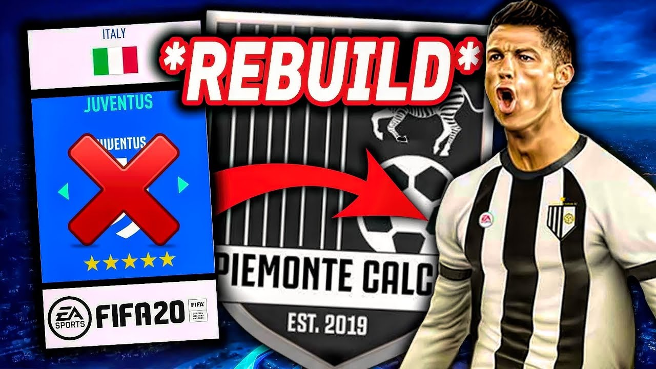 Piemonte Calcio Juventus Fifa 20 Rebuild Challenge Youtube