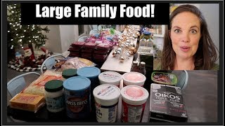 Once A Month Grocery Haul - WAY Under Budget!  Holidays!!!