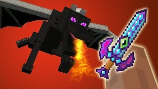 KILL DE ENDERDRAGON IN 1 KLAP! (Minecraft Mod)
