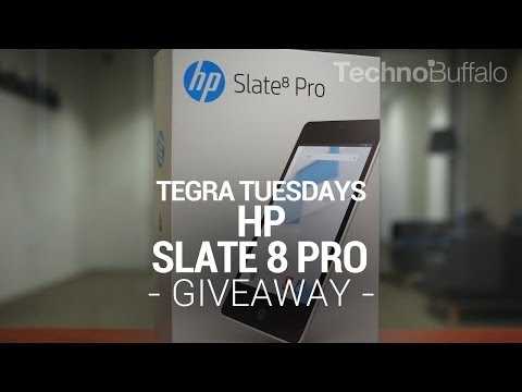 Tegra Tuesday Giveaway: HP Slate 8 Pro